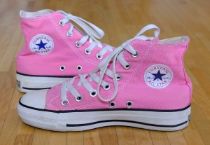 fast Neu Converse Chuck Taylor All Star high Sneaker Chucks Hi, Gr. 36, pink