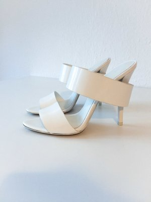 Alexander Wang High Heel Sandal white leather