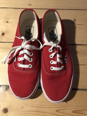Fast neue Vans Rot