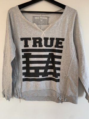 True Religion Jersey con cuello de pico multicolor