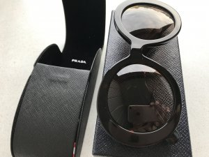Prada Glasses black brown