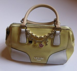 Guess Carry Bag yellow-primrose imitation leather
