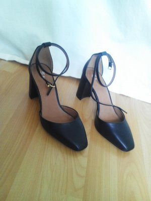 H&M Scarpa business nero Finta pelle