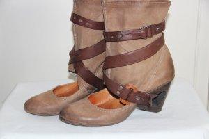 Fastival-Hippie Stiefel aus Leder von Airstep