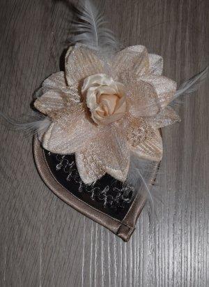 Spilla per capelli bronzo-beige chiaro