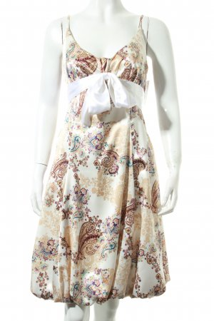 Faust Paris Trägerkleid Paisleymuster klassischer Stil