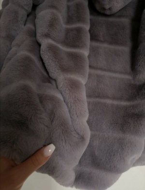 Fake Fur Jacket multicolored