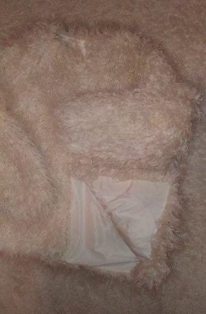 Faux fur Jacke im Oversize look