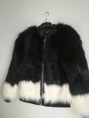 Faux-Fur Pelz Jacke