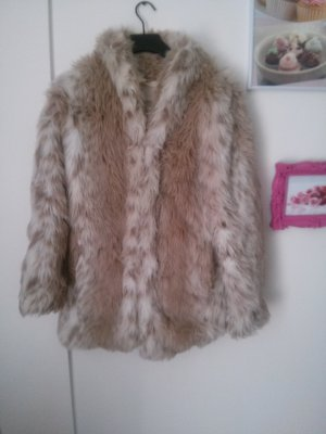 Faux Fur Pelzmantel von One Teaspoon