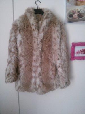 Faux Fur Pelzmantel von One Teaspoon