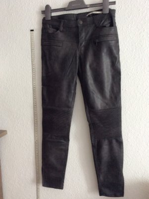 Faux leather biker Hose Kunst Leder