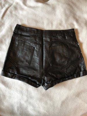 faux-leather Shorts von H&M