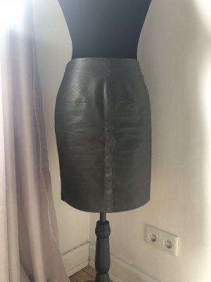Faux leather skirt rock pencil skirt Bleistift Rock