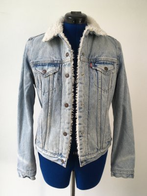 Levi's Fake Fur Jacket natural white-azure