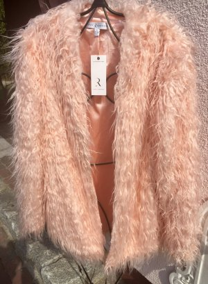 Rare london Pelzen jack stoffig roze Kunstbont