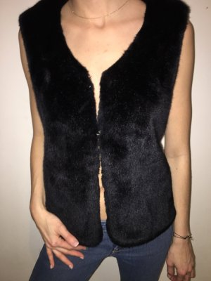 Pimkie Fake Fur Vest black