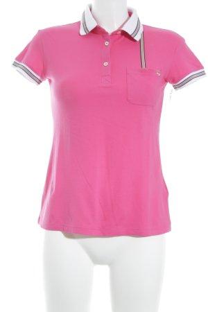 FAY Polo-Shirt Streifenmuster sportlicher Stil