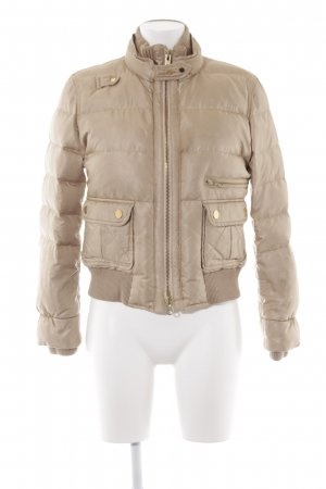 FAY Steppjacke beige Street-Fashion-Look