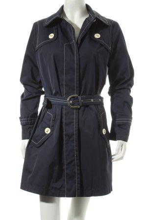 FAY Trenchcoat dunkelblau klassischer Stil