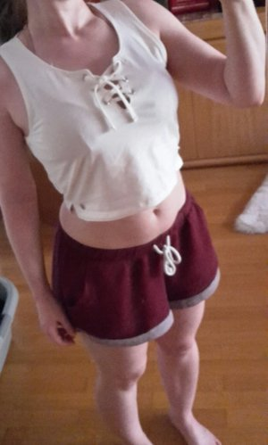 FB Sister Crop Top Schnürung Gr. S