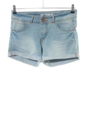 FB Sister Pantaloncino di jeans blu stile casual