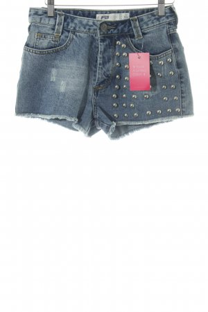 FB Sister Jeansshorts blau Casual-Look