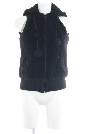 FB Sister Capuchon vest zwart casual uitstraling