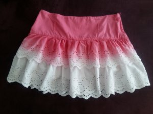 FB Sister Minirock Gr. M Pink/Weiss