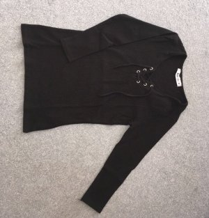 FB Sister Geribd shirt zwart