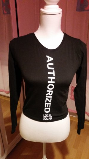 FB Sister Shirt Body white-black