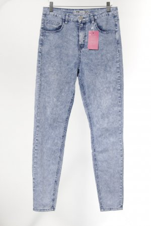 FB Sister Stretch Jeans himmelblau Casual-Look