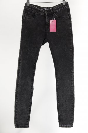 FB Sister Stretch Jeans schwarz Casual-Look