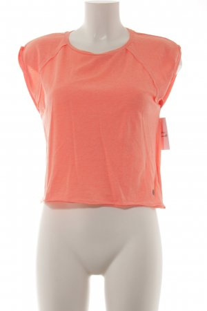FB Sister T-Shirt neonorange Street-Fashion-Look