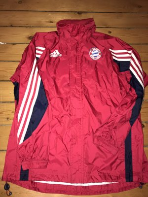 Adidas Regenjas rood