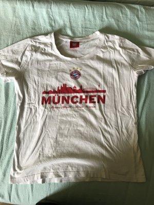 Camiseta blanco-rojo