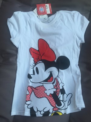 FC Bayern T-shirt neu Minnie Mouse