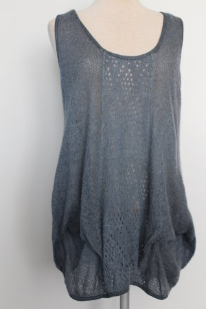 Knitted Top slate-gray