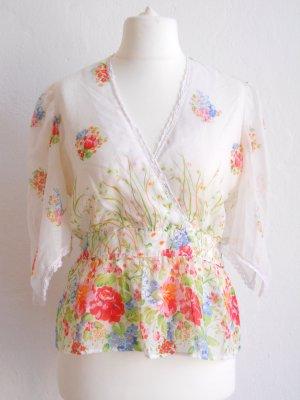 Federleichte Vintage Tunika Sommerbluse