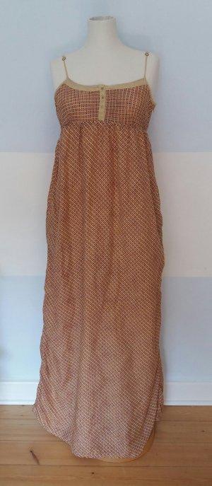 Maison Scotch Robe longue multicolore coton