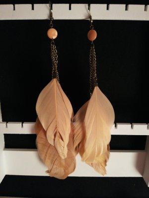 Federohrhänger Ohrhänger mit Federn