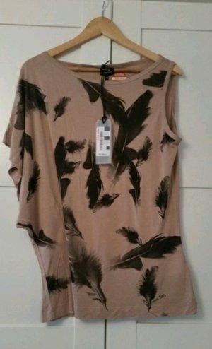 Federprint Shirt von Miss Sixty