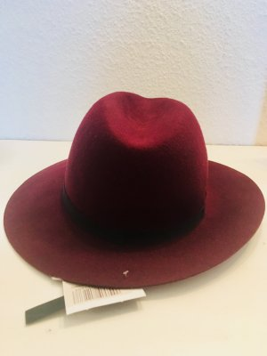 Topshop Cappello in feltro bordeaux
