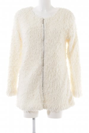 FEE RED Fur Jacket white extravagant style