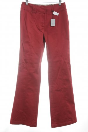 Feel Good Collection Stoffhose dunkelrot Business-Look