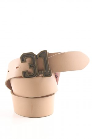feel thirty one Leather Belt cream casual look