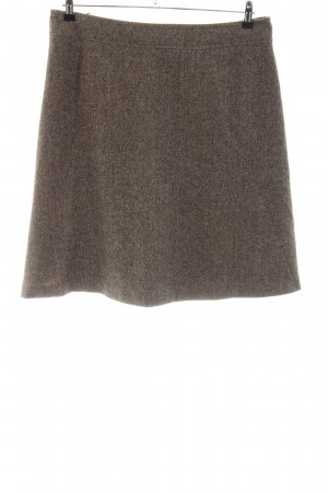 feel thirty one Wool Skirt brown flecked casual look