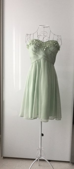 Feenhaftes, zart grünes Cocktailkleid von Adrianna Papell