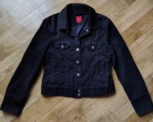 Esprit College Jacket black cotton