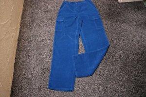 Cargo Pants cornflower blue cotton